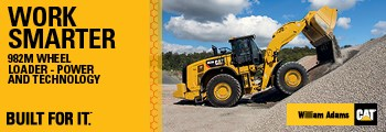 Work smarter with a 982M Wheel Loader