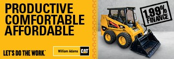 Cat 216B Series 3 Skid Steer Loader - 2019
