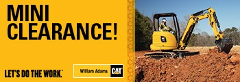 Cat Mini Excavator Clearance (2018)