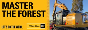 CAT 326F L EXCAVATOR WITH WARATAH HARVESTER PACKAGE