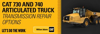 Transmission Repair Options - Cat 730 & 740 Articulated Trucks