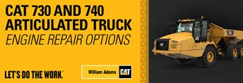 Engine Repair Options - Cat 730 & 740 Articulated Trucks
